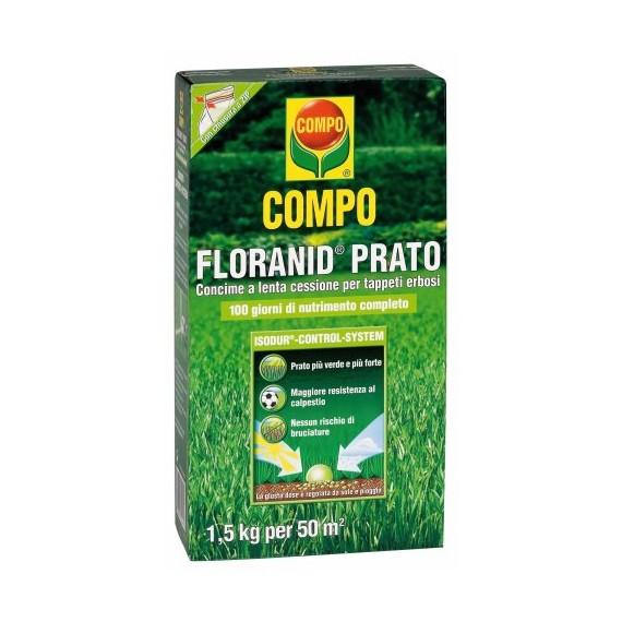 Compo floranid prato concime per tappeti erbosi con - Concime per prato verde ...
