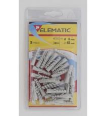 ELEMATIC BLISTER TASSELLI EM12 PZ. 4