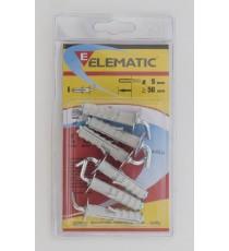 ELEMATIC BLISTER TASSELLI ETDIII 12 X 140 PZ. 2