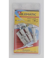 ELEMATIC BLISTER TASSELLI LE/B6 PZ. 4