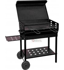 BARBECUE A CARBONE POLIFEMO ROBUSTO CM. 40x60x95h.