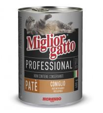 MIGLIORGATTO PATE PROFESSIONAL CONIGLIO GR.400