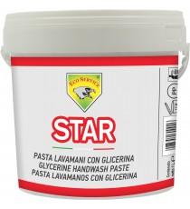 PASTA LAVAMANI CON GLICERINA PROFUMATA AL LIMONE STAR LT. 4