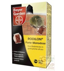BAYER RODILON FORTE ESCA TOPICIDA GRANULARE MONODOSE GR. 200