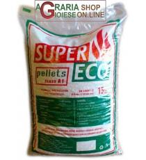 Pellet per stufe super Eco classe A1 kg. 15