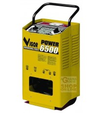 VIGOR CARICABATTERIA POWER 6500 CON RUOTE