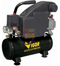 VIGOR COMPRESSORE ELETTRICO PORTATILE LT. 8 HP 1