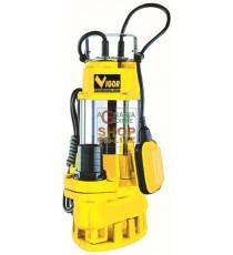 VIGOR ELETTROPOMPA SOMMERSA INOX-GHISA WATT 750 75740-50/4