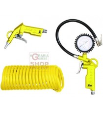 VIGOR KIT PER COMPRESSORE SET 3 PEZZI RP8031K3