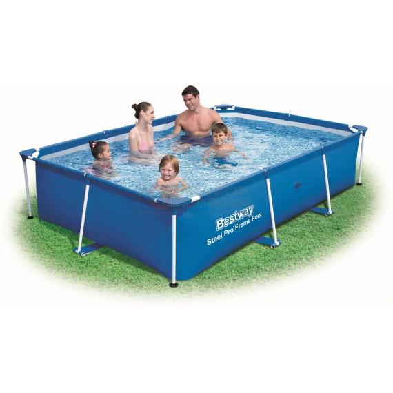 Bestway 56403 piscina con telaio fuori terra steel pro frame cm 25 - Bestway piscine fuori terra ...