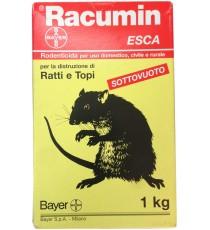 VELENO PER RATTI E TOPI BAYER RACUMIN RODENTICIDA ESCA IN GRANI