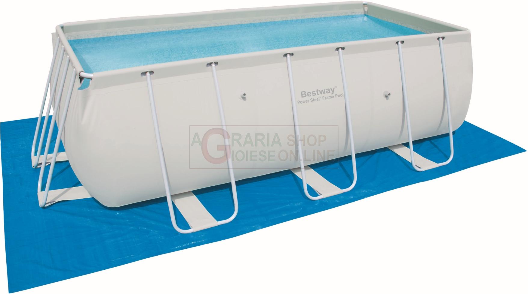 Bestway 58264 telo tappetino di base per piscine for Bestway italia piscine