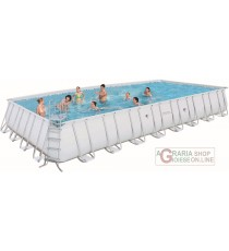 BESTWAY PISCINA CON TELAIO POWER STEEL FRAME CM. 956x488x132h.