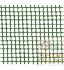 RETE IN PLASTICA PER BALCONI VERDE MM. 10X10 H.100