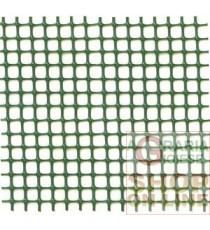 RETE IN PLASTICA PER BALCONI VERDE MM. 5X5 H.100