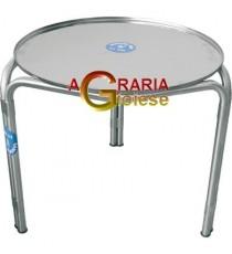 SANSONE SUPPORTO INOX PER CONTENITORI DA LT. 500 DIAM. CM. 75,5