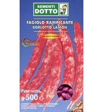 SEMI DI FAGIOLO BORLOTTO RAMPICANTE LAMON GR. 500