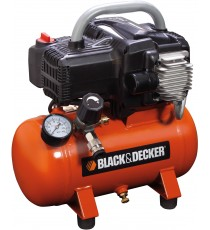 BLACK AND DECKER COMPRESSORE ELETTRICO LT. 6 HP. 1,5