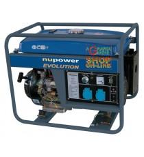 NUPOWER GENERATORE NPEGG5200 AVVIAMENTO ELETTRICO KW. 5,2