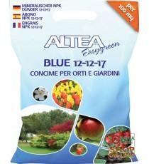 ALTEA BLUE 12-12-17 CONCIME GRANULARE BILANCIATO PER ORTI E GIARDINI KG. 4