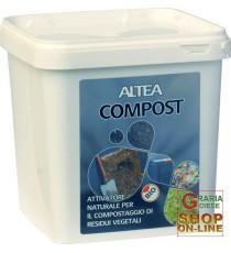 ALTEA COMPOST ATTIVATORE NATURALE PER IL COMPOSTAGGIO DEI RESIDUI VEGETALI KG. 3,5