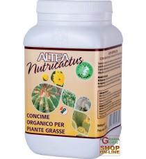 ALTEA NUTRICACTUS CONCIME ORGANICO GRANULARE PER PIANTE GRASSE CON GUANO 300g