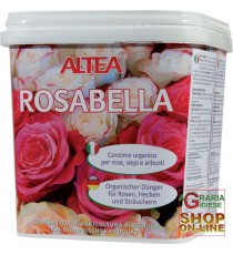ALTEA ROSABELLA CONCIME ORGANICO GRANULARE PER ROSE, SIEPI E ARBUSTI kg. 3,5