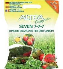 ALTEA SEVEN 7- 7- 7 CONCIME GRANULARE BILANCIATO PER ORTO E GIARDINO 5 Kg