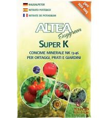 ALTEA SUPER K CONCIME MINERALE NK 13-46 PER ORTAGGI E FRUTTA E GIARDINI 2 Kg