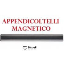 APPENDICOLTELLI MAGNETICO ALLUMINIO PROFESSIONALE BISBELL NERO mm. 500