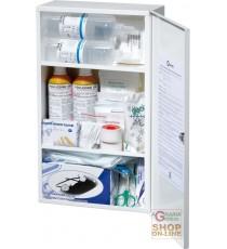 ARMADIETTO MEDICAZIONE IN METALLO  ALLEGATO 1 BASE  DIMENSIONI 50X30X12