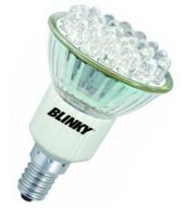BLINKY FARETTO A LED 30 LUCE CALDA E 14 WATT. 1,5 220V