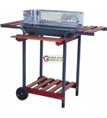 BARBECUE A CARBONE SUPER IDEA MOD. COMBI 65-35