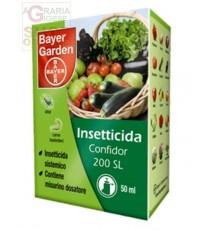 BAYER INSETTICIDA CONFIDOR 200 SL IMIDACLOPRID 17,1 ml. 50