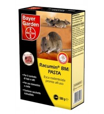 BAYER RACUMIN MB PASTA ESCA PER TOPI E RATTI GR. 500