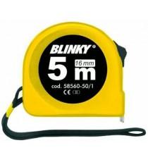 BLINKY FLESSOMETRO ABS CON BLOCK NASTRO MM. 16 MT. 5