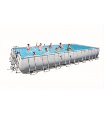 BESTWAY 56479 PISCINA CON TELAIO POWER STEEL FRAME CM. 1010x534x132h.