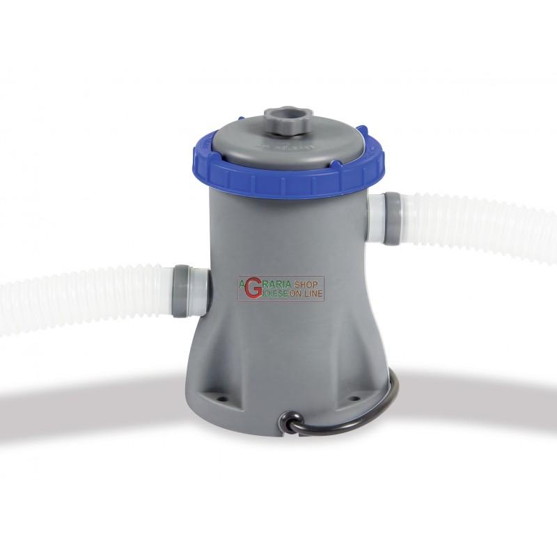 Bestway 58381 pompa filtrante per piscina completa di for Pompa per piscina