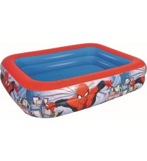 BESTWAY 98011 PISCINA 2 ANELLI SPIDERMAN CM.201X150X51h.