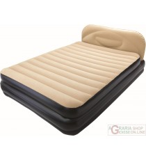 BESTWAY AIRBED SOFT BACK ELEVATED LETTO MATRIMONIALE DOPPIO GONFIABILE 203X152X41 MOD. 67483