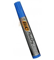BIC PENNARELLO INDELEBILE FUSTO IN PLASTICA CON PUNTA TONDA COLORE BLU