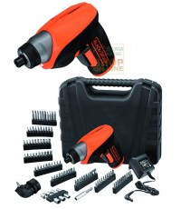 BLACK AND DECKER AVVITATORE A BATTERIA LITIO 3,6 V SVITAAVVITA SET-98 CS3652LKA