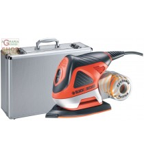 BLACK AND DECKER LEVIGATRICE MULTIFUNZIONE KA270MET CON VALIGETTA