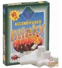 BLINKY ACCENDIFUOCO MAXI 80 CUBETTI GR. 720