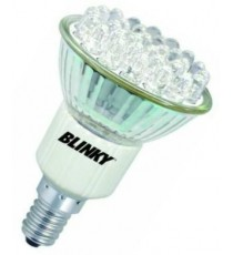 BLINKY FARETTO A LED 30 LUCE CALDA E 14 WATT. 1,5 220V 34062-30/2