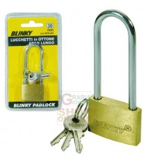 BLINKY LUCCHETTO IN OTTONE 3617 ARCO LUNGO MM. 50