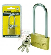BLINKY LUCCHETTO IN OTTONE 3617 ARCO LUNGO MM. 40