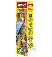 BONUS STICK GHIOTTONCINO PER PAPPAGALLINI CON MIELE PZ. 2