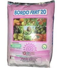 BORDOLESE BORDO FERT 20 CONCIME FOGLIARE A BASE DI RAME E BORO KG. 5