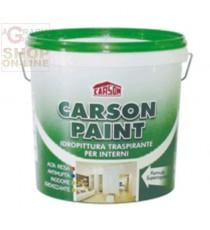 CARSON PAINT PITTURA SEMILAVABILE TRASPIRANTE SUPER COPRENTE LT. 14